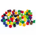 Alternate Image #3 of Linking Cubes Jar - 150 Pieces