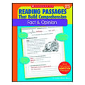Grades 4 & up. This book provides the practice students need to master the reading skills of determining point of view and distinguishing fact and opinion. The 35 reproducible pages in this book feature high-interest nonfiction reading passage with short-answer practice questions that target reading comprehension skills. Also includes model lessons, assessments, and an answer key. 48 pages.