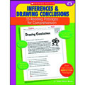 This book provides the practice students need to master the reading skills of making inferences and drawing conclusions. The 35 reproducible pages in this book feature high-interest nonfiction reading passage with short-answer practice questions that target one of these essential reading comprehension skills. Also includes model lessons, assessments, and an answer key. 48 pages.