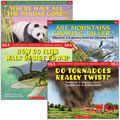 Grades 2 - 3.  Each book combines intriguing questions and answers with easy to understand text and occasional humor. Full page art shows the animals and environments in vibrant detail. Includes four (4), 48-page paperbacks. Reading Level 3.6 (lexile 670).
