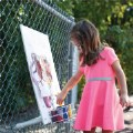 Alternate Thumbnail Image #1 of Outdoor Fence Easel