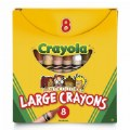 Crayola® 8-Count Multicultural Crayons - Large - Single Box