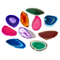 Agate Light Table Slices - Set of 12