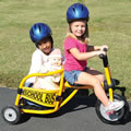 Alternate Image #1 of Yellow School Bus Trike
