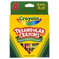 Alt Thumbnail #2 of Crayola® 8-Pack Anti-Roll Triangular Crayons (Single Box)
