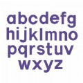 "Bigz Dies - 3.5"" Lowercase Block Letters - Set of 23"