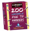 200 Count Washable Fine Tip Markers