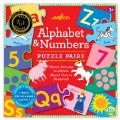 Alternate Image #1 of Alphabet and Numbers Puzzle Pairs