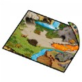 Alternate Thumbnail Image #3 of Zipbin Happy Farm & Dino Land Large Playmat - 2-Sided