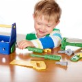 Alternate Thumbnail Image #1 of Pretend Play Tool Set And Toolbox with Handle