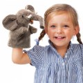 Alternate Image #1 of Little Elephant Hand Puppet
