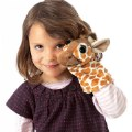Alternate Image #1 of Little Giraffe Hand Puppet