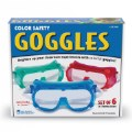 Alternate Thumbnail Image #3 of Children's Colorful Safety Goggles - Set of 6