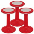 "Thumbnail of 20"" K'Motion Stool Set - Red"