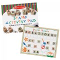 Alternate Image #3 of Wooden ABC 123 Stamp Set