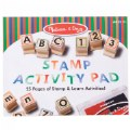 Alternate Image #5 of Wooden ABC 123 Stamp Set