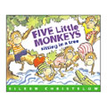 Alternate Thumbnail Image #4 of Five Little Monkeys Books And Finger Puppets