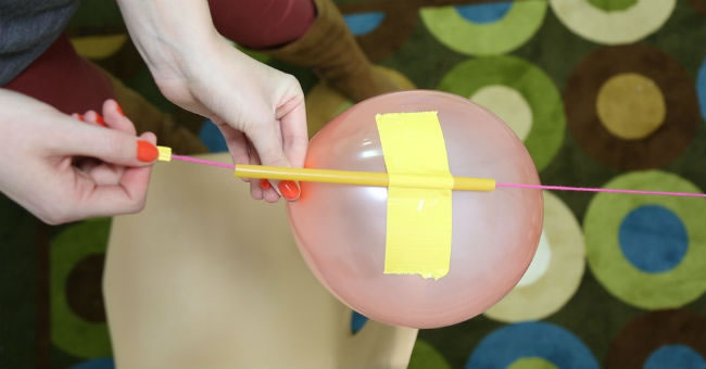 Balloon Rockets STEM Activity