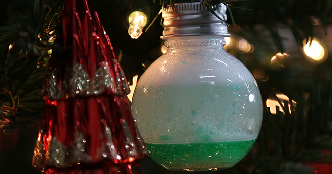 Christmas STEM Bubble Lights