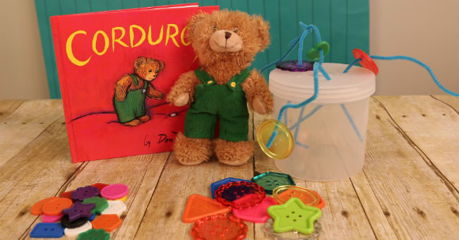 Corduroy Fine Motor Activities