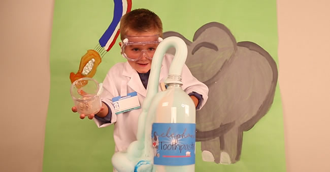 Elephant Toothpaste Activity