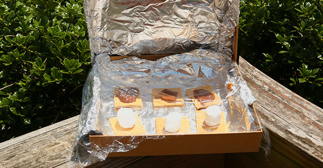 Solar S'mores Activity