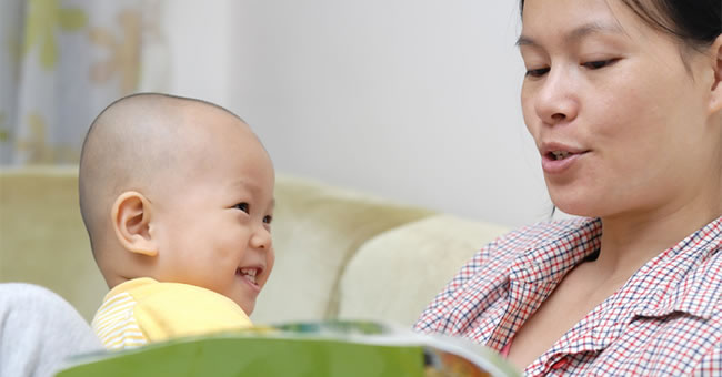 Increasing the Vocabulary of Infants and Toddlers