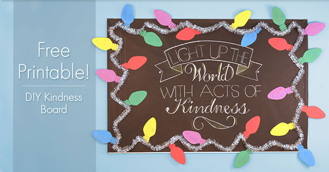 DIY Kindness Board