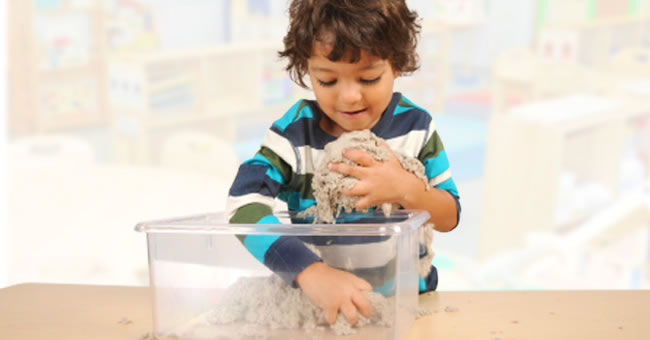 Making Sand and Water Learning Centers More Accessible