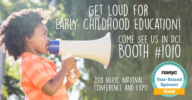 Kaplan Happenings at NAEYC's 2018 Annual Conference