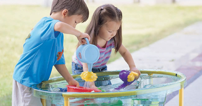 How To Set Up Your Preschool Sand And Water Learning Center Kaplan