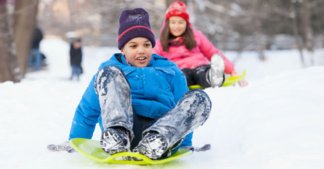 Learn and Play with Snow Day Activities