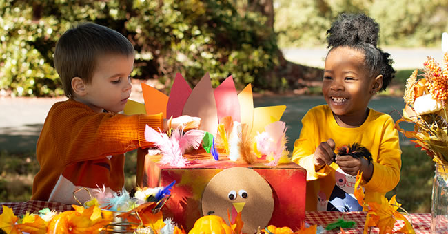 3 Festive Fine Motor Activities for Thanksgiving