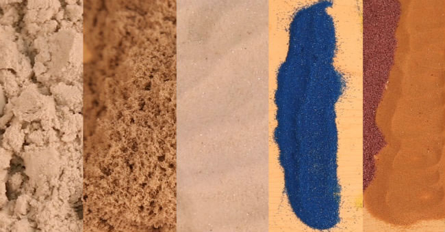 Quick Guide for Selecting Different Types of Sands