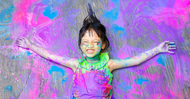 Why Getting Messy Is Essential to Early Childhood Development