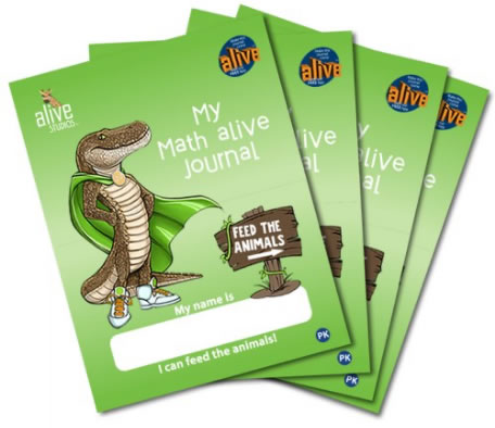 Math alive® Journals