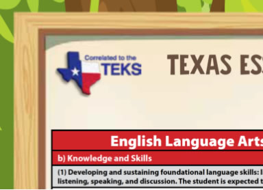 Kindergarten TEKS Standards Alignment