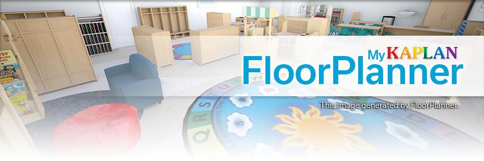 Classroom floorplanner for Kaplan floor planner