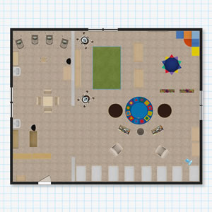 Infant Classroom Floor Plan