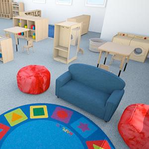Ecers classroom floor plan home fatare for Kaplan floor planner
