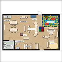 Toddler Classroom Floorplan