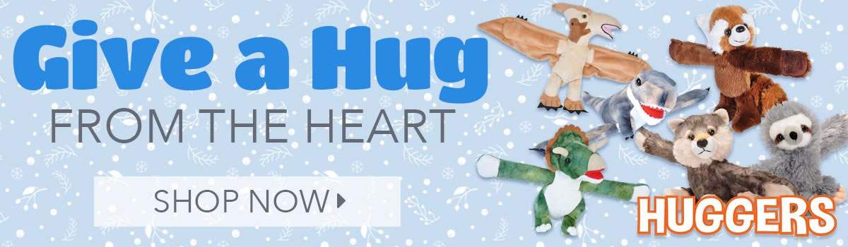 Huggers Plush Stuffed Animal Bracelets