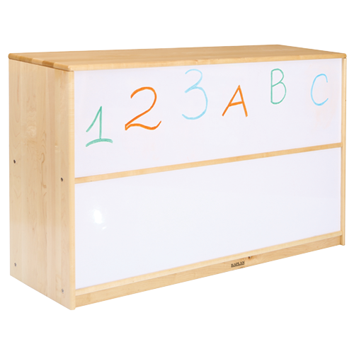 Preschool 5 Compartment Storage Unit with Dry Erase Back