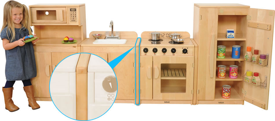 Kitchen Set with Linking System