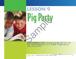Lesson 9 - Pig Party