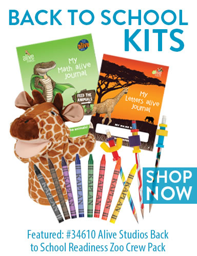 Back to School Kits - 34610 Alive Studios Back to School Readiness Zoo Crew