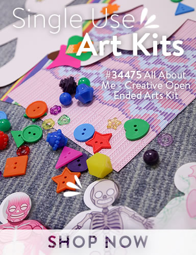 All About Me - Creative Open Ended Arts Kit